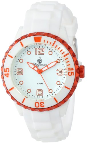 Burgmeister Women's BM604-586G White Beach Analog Watch