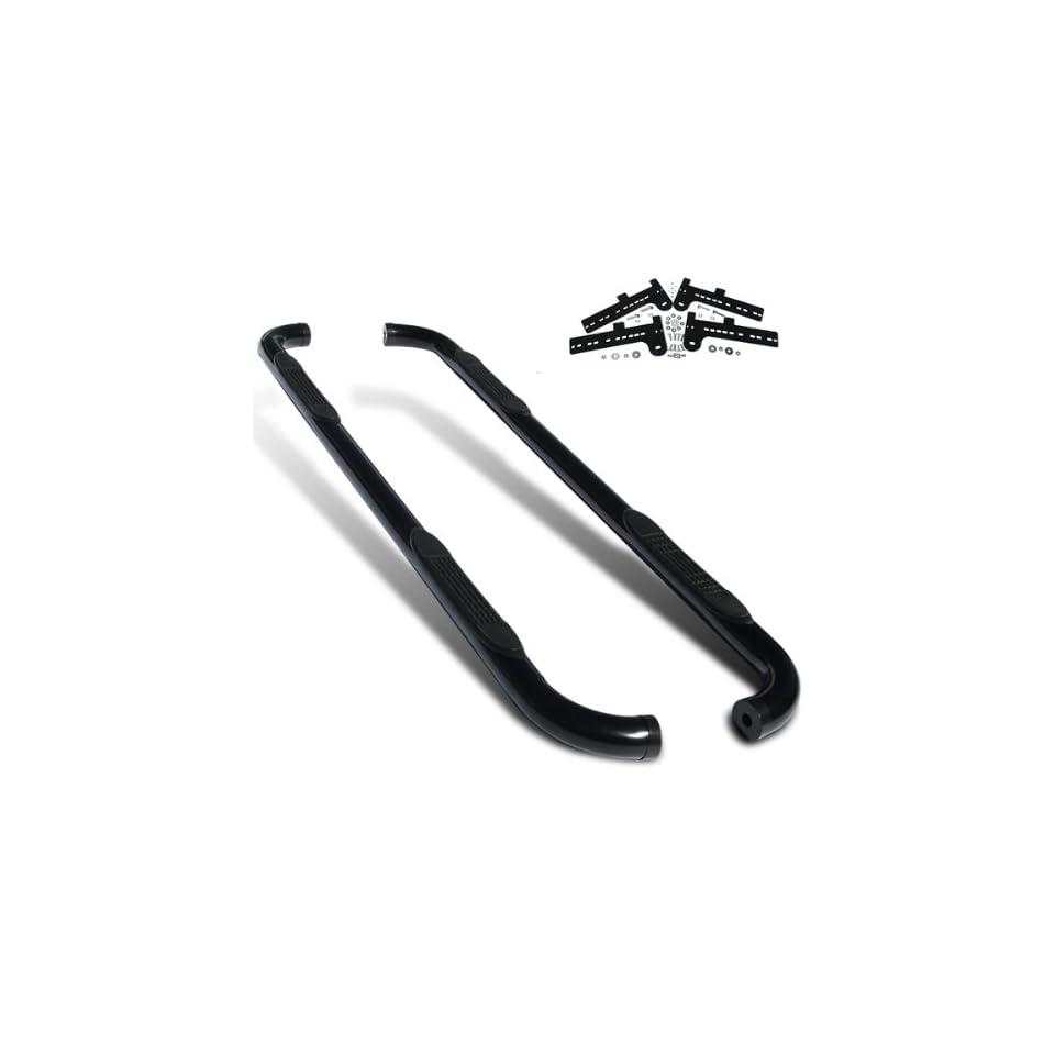 Satin Black Side Step Nerf Bars  Ford Explorer Sport Trac