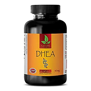 Anti-Aging Supplement – DHEA 50MG – dhea Supplements for Women – 1 Bottle (60 Capsules)