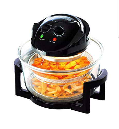 Oven 17 Litres Daewoo Halogen Healthy Glass Air Fryer Deep Fat.