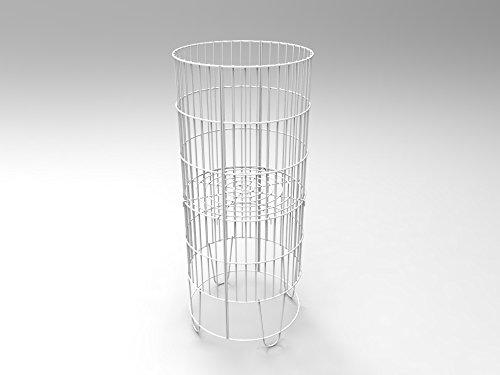 FixtureDisplays Bulk Bin Dump Bin Impulse-buy Wire Basket Stand Display 15574