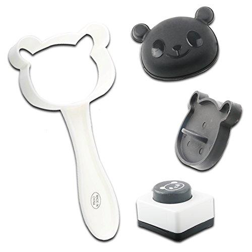 Kit Panda - Rice Mold,Panda Rice Mold Kit