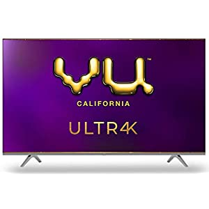 Vu (55 inches) 4K Ultra HD Smart Android LED TV 55UT