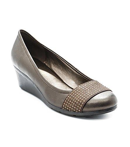Bronze Womens Andrew Senona Heels Andrew Metallic Metallic Geller Heels Bronze Andrew Senona Geller Womens dq74Ed