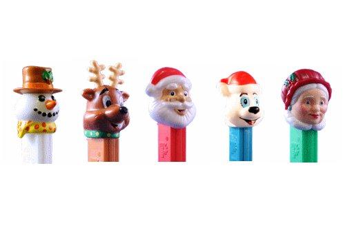 Pez Candy Dispenser Winter Christmas Holiday 12 Pack (Pez Santa)