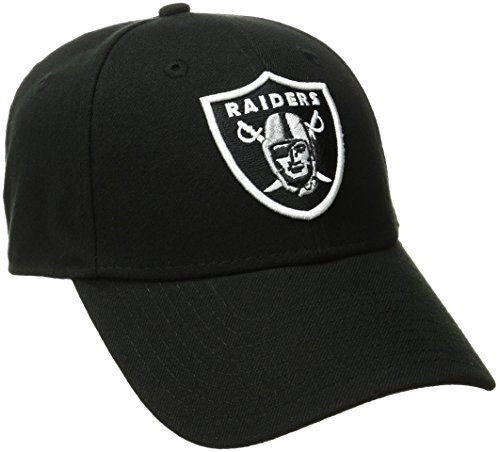 New Era Herren Baseball Cap the League 9Forty Oakland Raiders Offical Team Colour, Schwarz, One size