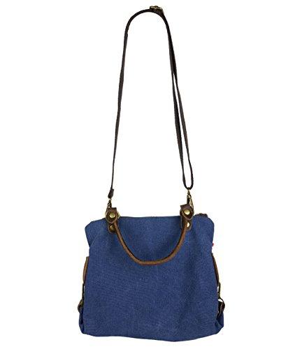 de 2 Étoile M en Sac toile femme Beige à main Shopping nbsp;tailles Blau sac qfAzfIwx