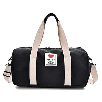 Miles Sail Lienzo Bolsas de Viaje para niños Yoga Gym Bag ...
