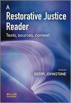 Book A Restorative Justice Reader (2003-05-03)