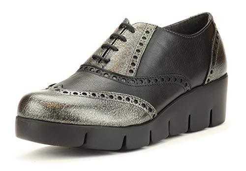 Gris Cale Noir Classique Femme Tralls Nouveaux 13 Flexx Chaussures B254 Avec Fer Et The qU7TaBx