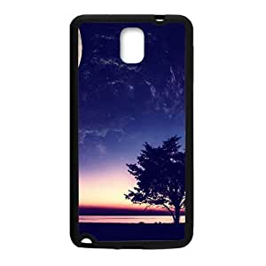 Bright Moon Sky And Tree Black Phone For Case Iphone 6Plus 5.5inch Cover