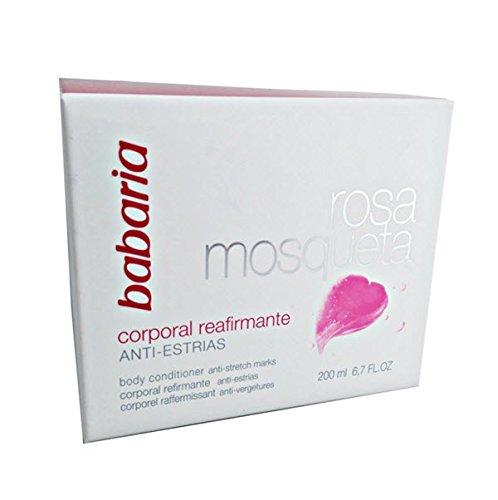 Babaria Rosa Mosqueta Rosehip Body Cream Anti-stretch Marks 200 ml