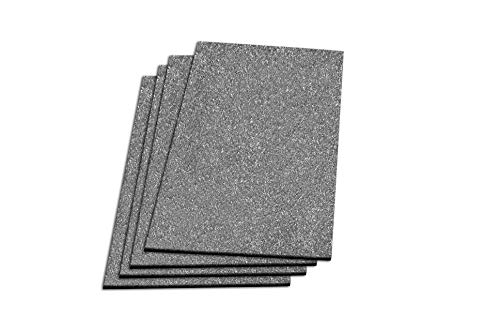 WarmlyYours 2' x 4' CeraZorb Insulating Synthetic Cork Underlayment Sheet, Lightweight, 4 Pack, 32 sq. ft. Coverage