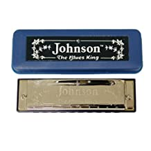 Johnson BK-520-G Blues King Harmonica, G