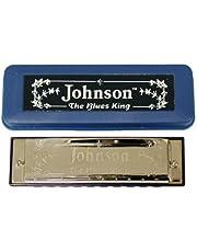 Johnson BK-520-G Blues King Harmonica, G