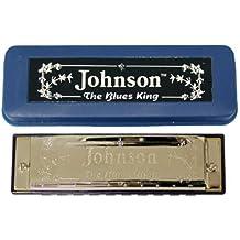 Johnson BK-520-C Blues King Harmonica, C