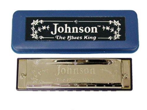Johnson Bk-520-C Blues King Harmonica