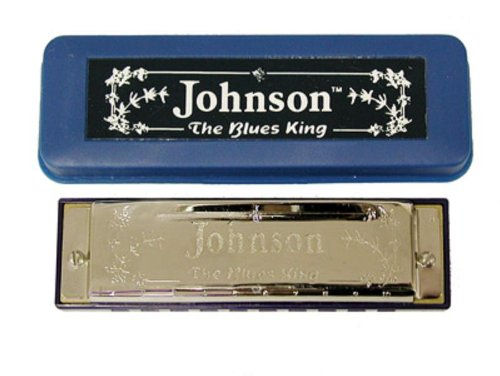 Johnson bk-520-c armónicas de Blues King, C