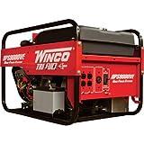 Winco Portable Trifuel Generator - 9,000 Surge Watts, 8,000 Rated Watts, Electric Start, Model# 16609-000