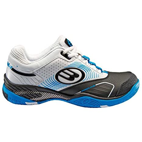 Bullpadel - Zapatillas bullpadel beta real azul de pádel, talla 44, color blanco / negro / azul: Amazon.es: Deportes y aire libre