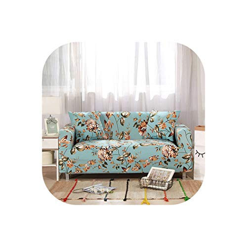 - Elastic Sofa Cover Sectional Stretch Slipcovers for Living Room Couch Cover L Shape Armchair Cover,Color 12,3-Seater 190-230Cm