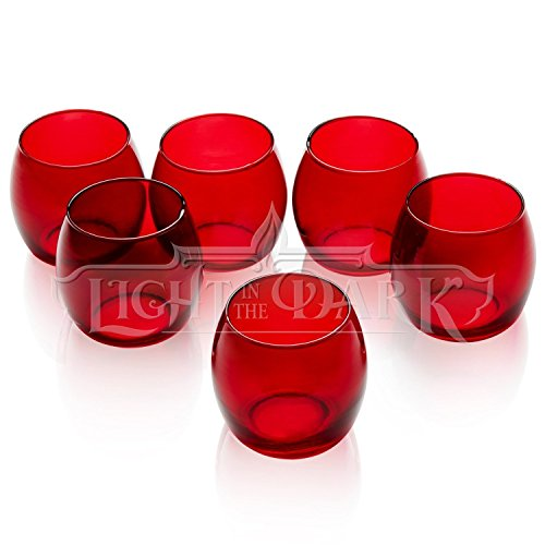 red candle holder - 2