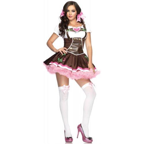 Lil039; German Girl Costume - Small/Medium - Dress Size 4-8 ()