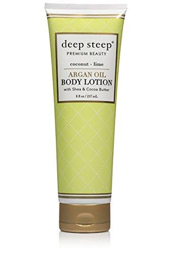 Deep Steep Argan Oil Body Lotion, Coconut Lime, 8 Fluid