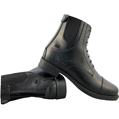 Competition Back Black Zip Todd Mark Riding Short Boots 41gqUZwtn