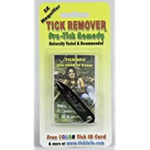 Pro-tick Remedy Removal Tool Complete Kit for DeerTick Dog Tick and Lone Star Ticks