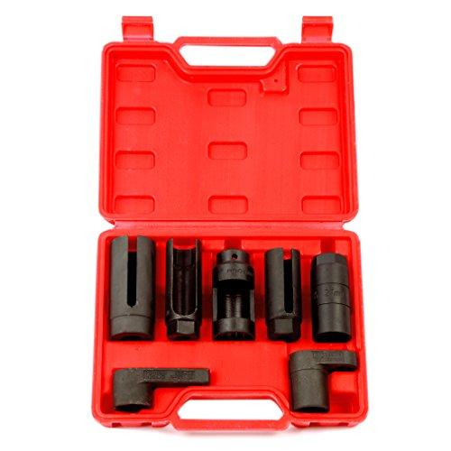 8milelake 7pcs O2 Oxygen Sensor & Oil Pressure Sending Unit Master Sensor  Socket Set