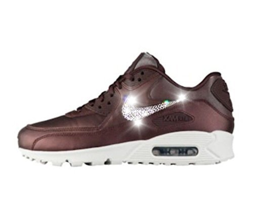 Nike air max 90s women, Swarovski Nike air max shoes, Bling Nike shoes,