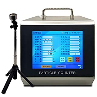 Large Sampling Volume Clean Room Dust Particle Counter Y09-5100 Laser Particle Counter