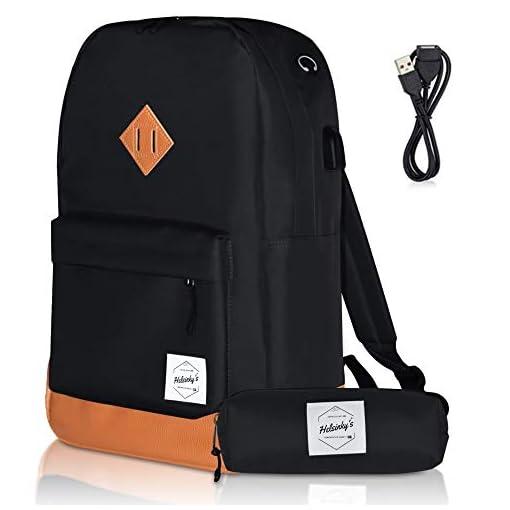 01 WAWJ Convertible Antirrobo Mochila de Viaje Estilo Business Escolar 35L Negro Mochila Antirrobo de Maleta Viaje por 17,3 Pulgada Cuaderno