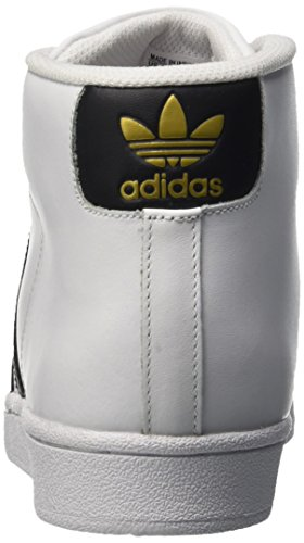 adidas Herren Pro Model High-Top mehrfarbig (Ftwwht/Cblack/Ftwwht)