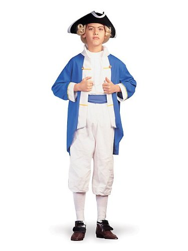 Colonial Captain Child Economy Costume (Hat, shoes and sword not included)