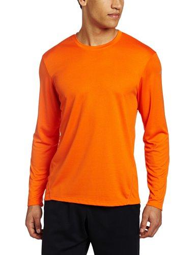 Core Run Asics Shirt (Asics Men's Core Long Sleeve Shirt, X-Large, Zest)