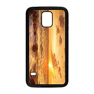The Sunrise And Beach Hight Quality Plastic Case for Samsung Galaxy S5