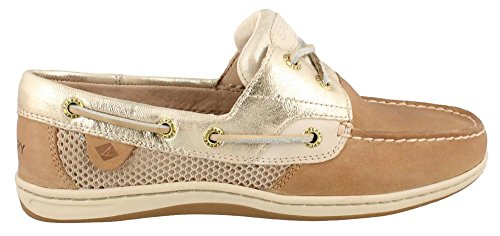 Sperry Top-Sider Mujer koifish Core Barco Zapato Linen/platinum