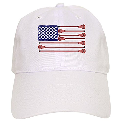 b22abeea277 CafePress - Lacrosse Americasgame - Baseball Cap with Adjustable Closure