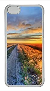 LJF phone case iphone 4/4s case, Cute The Path Of Dusk iphone 4/4s Cover, iphone 4/4s Cases, Hard Clear iphone 4/4s Covers