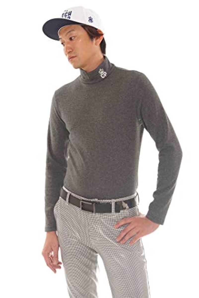 [해외] 극난 골프 웨어 맨즈 기털 하이네구 스트레치 초극난 셔츠 추동 방한 터틀넥