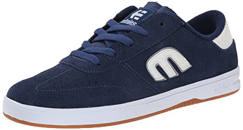 EtniesMarana Lo Cut Marino Blanco Suede HombresSkate Trainers Zapatos