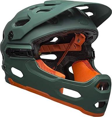 Bell Helmets Super 3R MIPS Integral BMX Helmet S Verde, Naranja ...