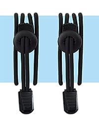Kids No Tie Shoelaces - Pure Black or Pure White - The Perfect Elastic Shoe Laces For School Uniforms