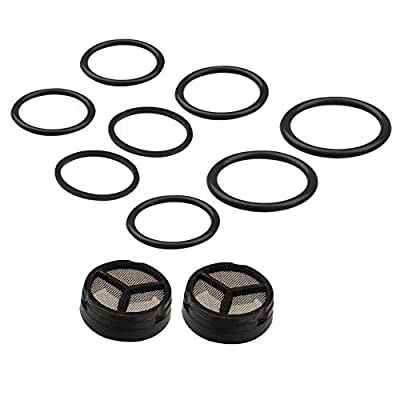 Bang4buck 2 Packs (10 Pieces) Injector Pressure Regulator Seal Kit for Ford 03-10 6.0L Powerstroke Diesel: Automotive