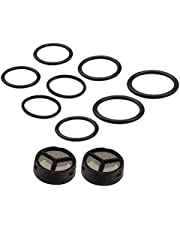 Bang4buck 2 Packs (10 Pieces) Injector Pressure Regulator Seal Kit for Ford 03-10 6.0L Powerstroke Diesel