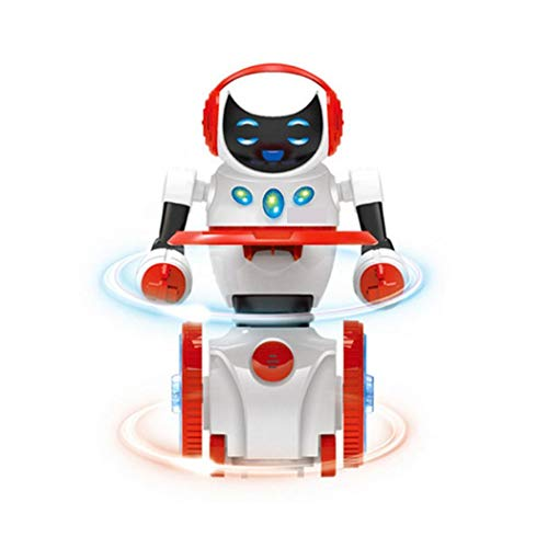 OD'lover Multipurpose Electric Intelligent RC Smart Robot Interactive Robot Kids Toys Remote- & App-Controlled Figures & Robots from OD'lover