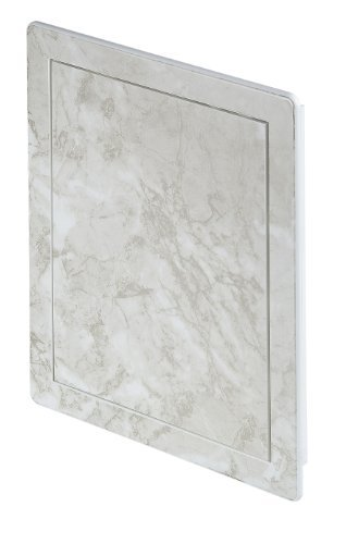 Access panel decorative light beige marble effect ,service door, control hatch (DT14MBJ) by Awenta