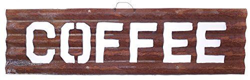 Primitive Décor Large Rusty Metal Cutout
